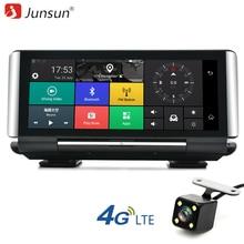 Junsun E29 Pro 4G Автомобильная камера DVR GPS 6.86 «Android 5.1 FHD 1080P WIFI видеорегистратор Dash cam Мониторинг парковки регистраторов