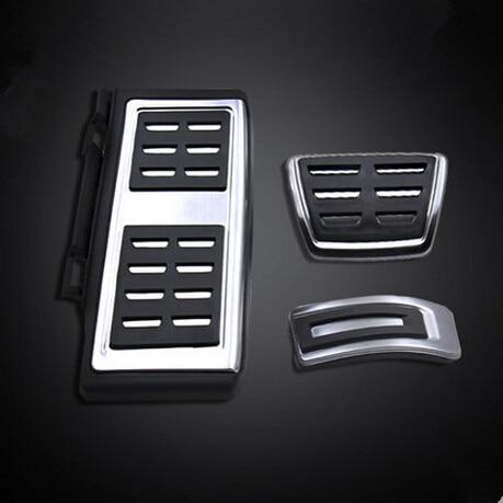 LHD Car Pedals Fit For VW Audi A3 8V S3 RS3 Sportback Seat Leon Rapid Octavia 5E 5F A7 Passat B8 Footrest Brake Pads Accessories