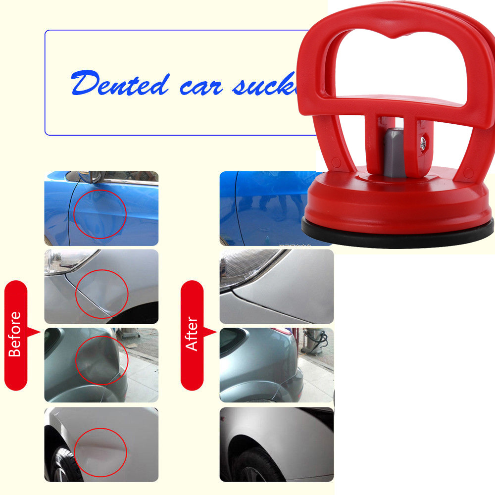 Hand Tool Sets Lovely Durable Car Dent Remover Puller Auto Body Dent Removal Tools Strong Suction Cup Car Repair Kit Glass Metal Lifter Locking Useful Fast Color