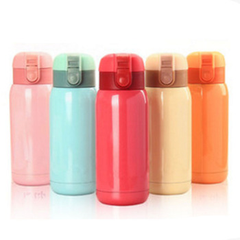 Stainless Steel Coffee Thermos Cup Insulated Water Bottle Taza Termo Cute Thermos Flask Thermos Flask Pink Beige Orange Blue Red Термос