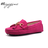 MIYAGINA 2019 New Arrival Casual Womens Shoes Genuine Cowhide Leather Women Loafers Moccasins Fashion Slip On Women Flats Shoes