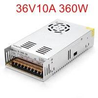 Best quality 36V 10A 360W Switching Power Supply Driver for CCTV camera LED Strip AC 100 240V Input to DC 36V
