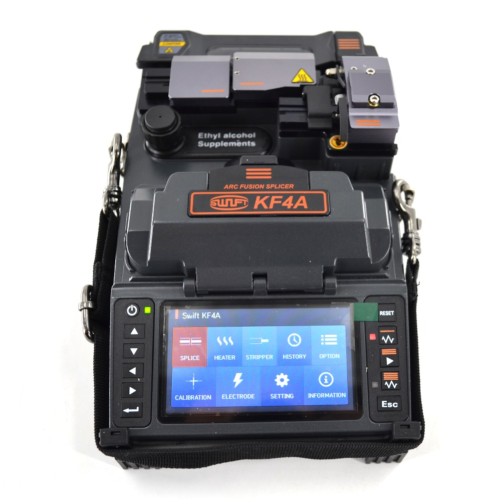 <font><b>ILSINTECH</b></font> Swift KF4A Active Cladding Alignment Fiber Fusion Splicer optical fiber Splicing machine with Automatic Motor Drive image