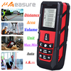 UMEASURE Red Color Laser Range Finder 0 100M 328ft Distance Area Volume Measurer Digital Laser Distance