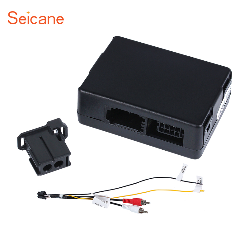 Seicane Car Optical Fiber Decoder Box Most Box for Mercedes-Benz SLK W171 R171 SLK200 SLK280 SLK300 SLK350 SLK55 Auto Radio seicane 2din android 8 0 7inch car radio stereo gps multimedia player for mercedes benz slk class slk200 slk280 slk350 slk55