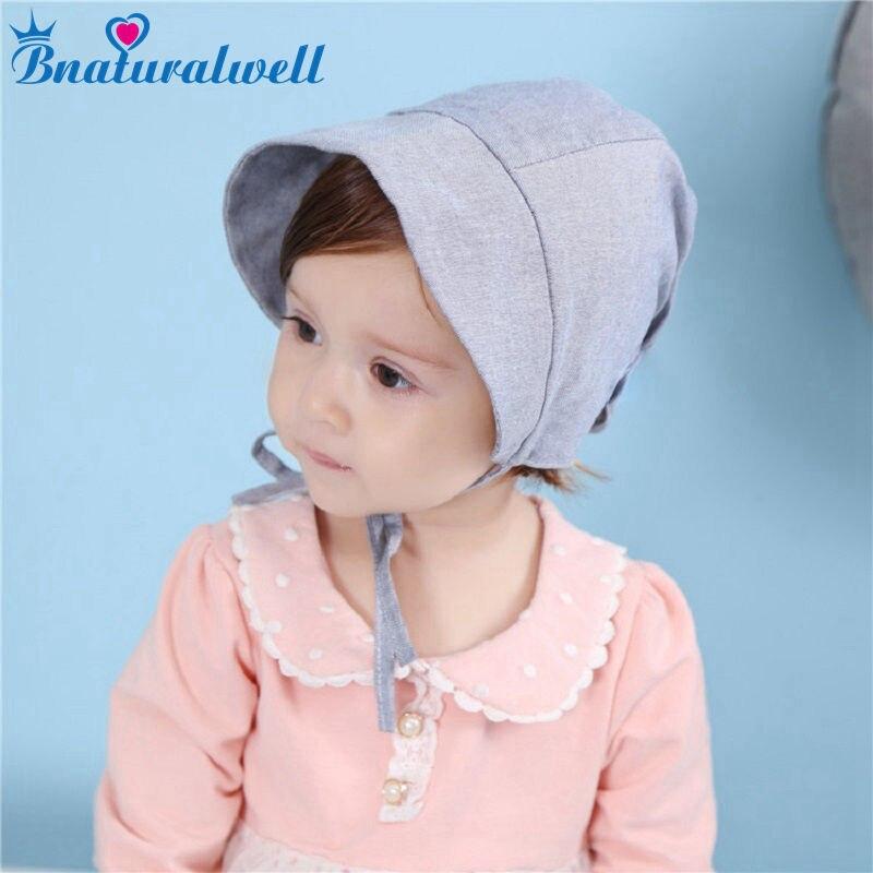 Bnaturalwell Baby Girls Bonnet Infant Girls Lovely Beanie Toddler Caps Newborn Granny Hat Milk Maid Cap Photo Props 1pc H861S