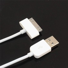 1m Data charger Mobile Phone Cable Fast Charging USB cable For iPhone 4 and 4S iPad iPod with 30 pin dock connector