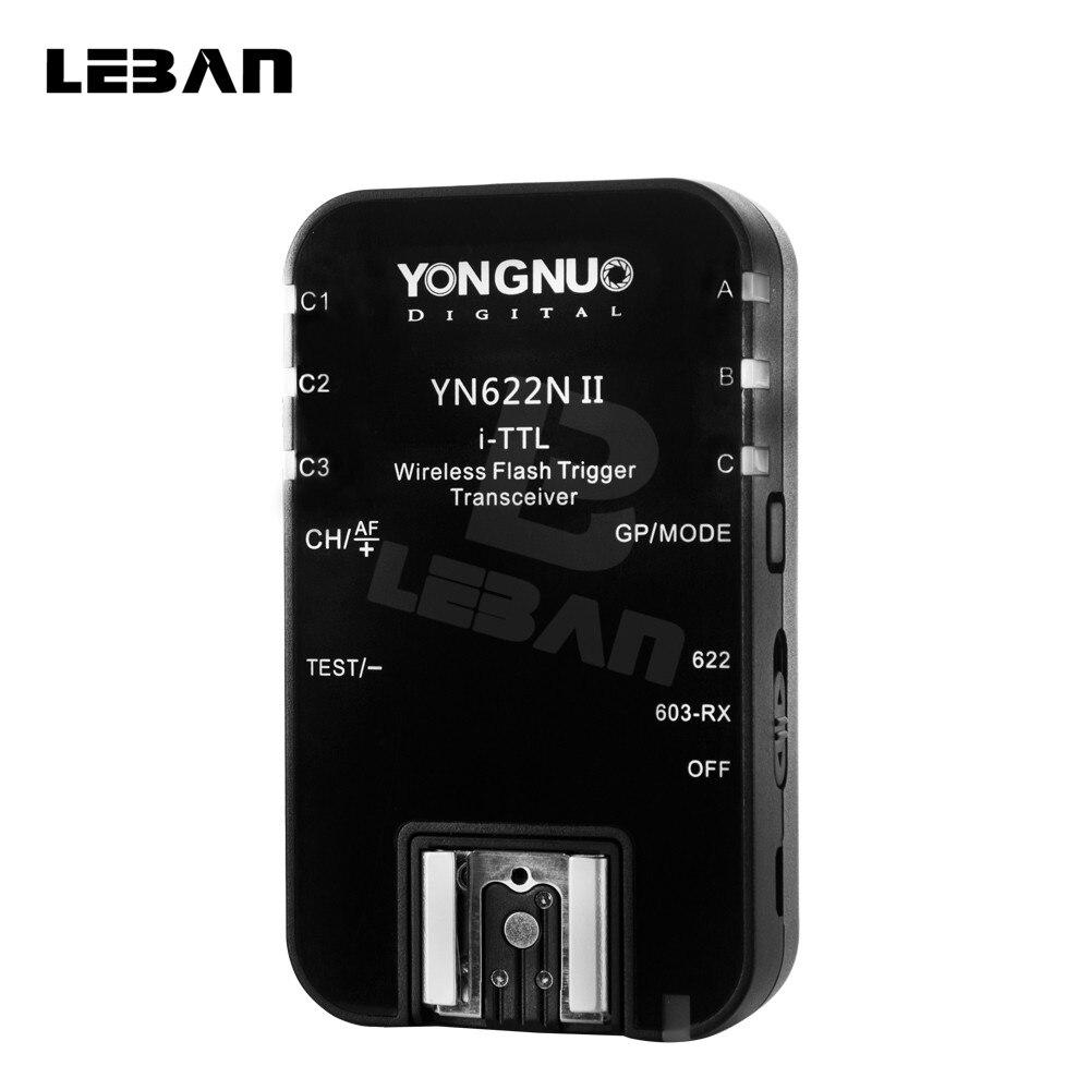 Yongnuo YN 622N II Single Transceiver YN 622N Wireless TTL Flash Trigger For Nikon D70 D70S