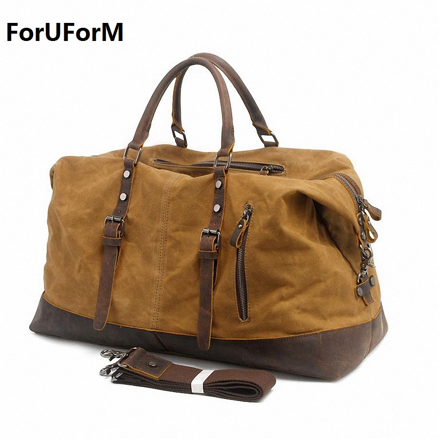 Men s Travel Bags Casual Shoulder Bag Men Messenger Bags Large Handbag waterproof Men s Travel