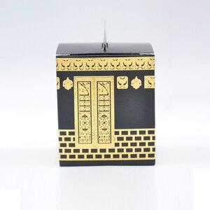 Image 2 - Musselina festival caaba design morrer corte folha de ouro hajj caixa
