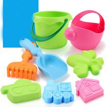 8pcs/Set Summer Water Beach Sand Play Toys Set Kids Seaside Bucket Shovel Rake Kit Play Toy Building Sea Children Dredging Tools(China)