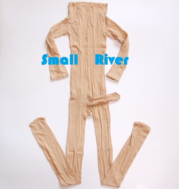 Hot sale Male sexy body  stockings Mens one piece transparent elastic Velvet Bodysuits w penis sleeve Coveralls socks 5 Colors