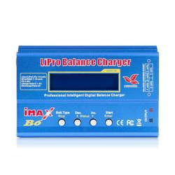 Imax B6 12V ładowarka 80W Lipro zabawka do utrzymywania równowagi z ładowarką Nimh Li Ion ni cd cyfrowa ładowarka Rc 12V 6A ładowarka (bez Plu w Ładowarki od Elektronika użytkowa na