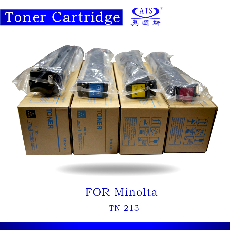 1PCS BK466G CMY364G Toner Photocopy machine Toner Cartridge For Minolta Compatible Bizhub TN213 C 203 253 Copier Parts C203 аксессуар защитная пленка универсальная media gadget premium 5 матовая mg348