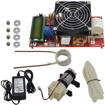 Us Plug 2000W Zvs Induction Heating Heater Module Scm Control Circuit Board Driver Coil