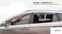 Window Visors Awnings Wind Rain Deflector Visor Guard Vent For TOYOTA RAV4 RAV 4 XA40 2013