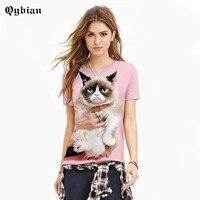 Brand 3d T Shirt Men Grumpy Cat Printed Short Sleeve T Shirt Women S Hip Hop