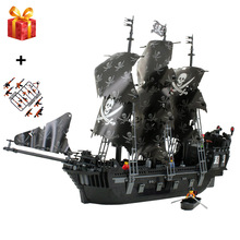 2019 Pirates of The Caribbean Black Pearl Ship Compatible legoergy Caribbean Building Blocks DIY Toys for Children Gifts   Gift недорого