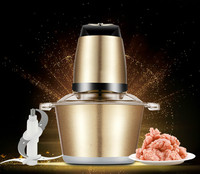 Meat Grinders upgrade color steel stainless grinder home electric large capacity mixer small stuffing NEW