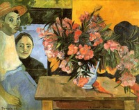 Flowers of France by Paul Gauguin oil Painting Canvas High quality hand painted Flower Art Reproduction