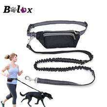 Поводок для собак, многофункциональный водонепроницаемый пояс с регулируемой талией, для бега, свободные руки