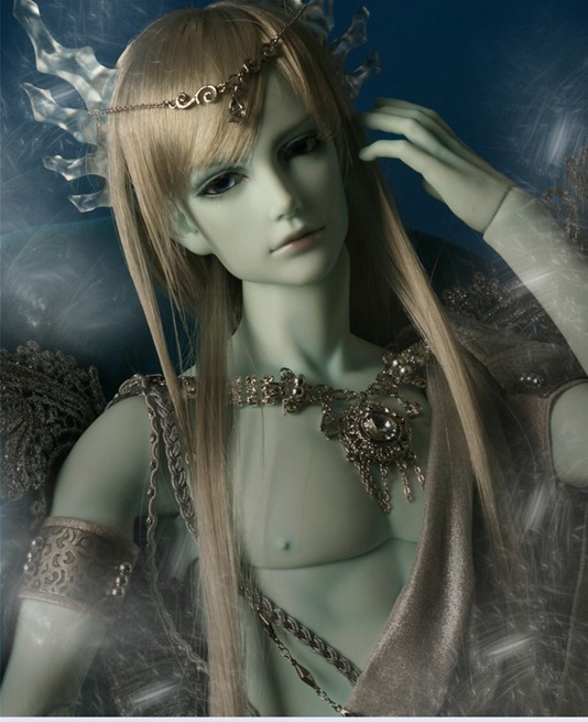 1/3rd  65CM BJD nude doll Quartz - Ice Dragon,BJD/SD doll include face up..not include clothes;wig;shoes and other access&ies 1 3rd 65cm bjd nude doll vesuvia bjd sd doll girl include face up not include clothes wig shoes and other access