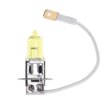 1pc H3 12V 55W 3000K Yellow Quartz Glass Halogen Xenon Bulb Headlight for Auto Head Lamp Fog Lamp Automobile Accessories image
