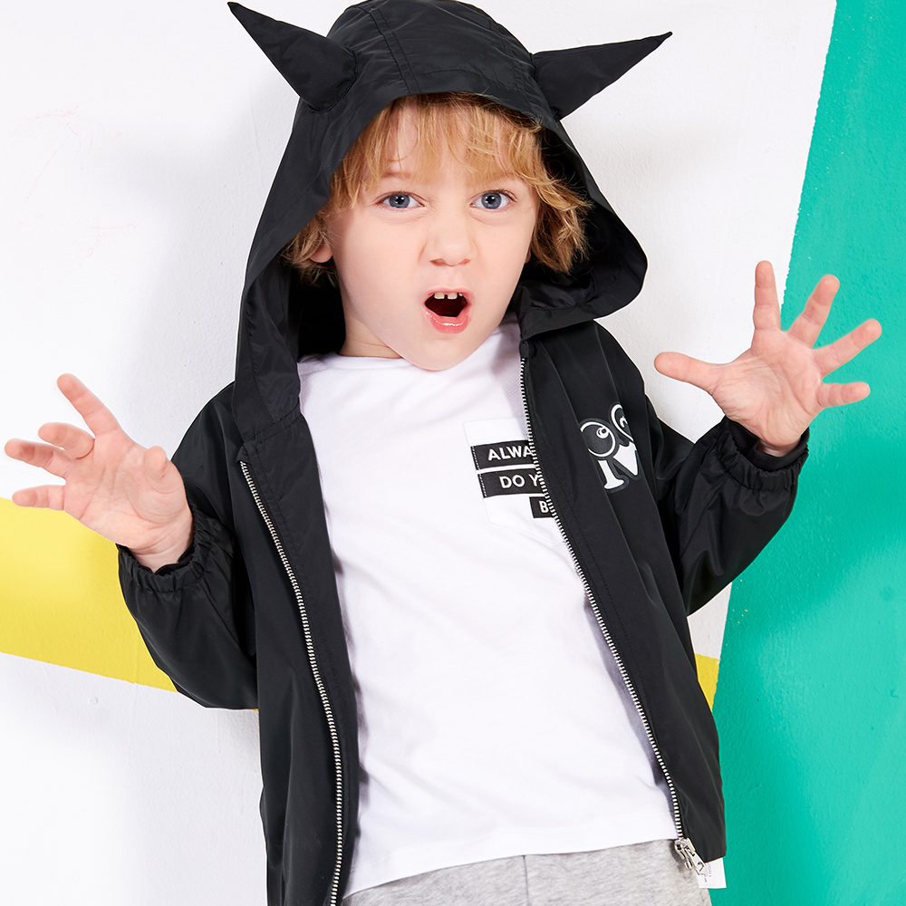 WARMSHOP Lovely Baby Boys Girls Character Deer Hooded Christmas Costume Cosplay Cape Robe Coat