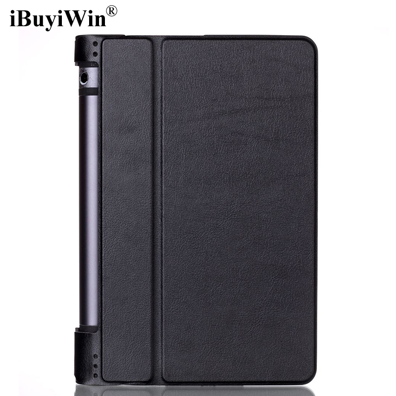 Case for Lenovo Yoga Tab 3 8 850F Slim Magnetic Stand Smart Cover PU Leather Case for Lenovo Yoga Tab 3 850F YT3-850F 850M 850L ноутбук dell inspiron 3552 3552 3072 intel pentium n3710 1 6 ghz 4096mb 500gb dvd rw intel hd graphics wi fi bluetooth cam 15 6 1366x768 linux