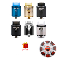 Free Gift Digiflavor Drop RDA With BF Squonk 510 Pin Electronic Cigarette Tank Pk Peerless Rda