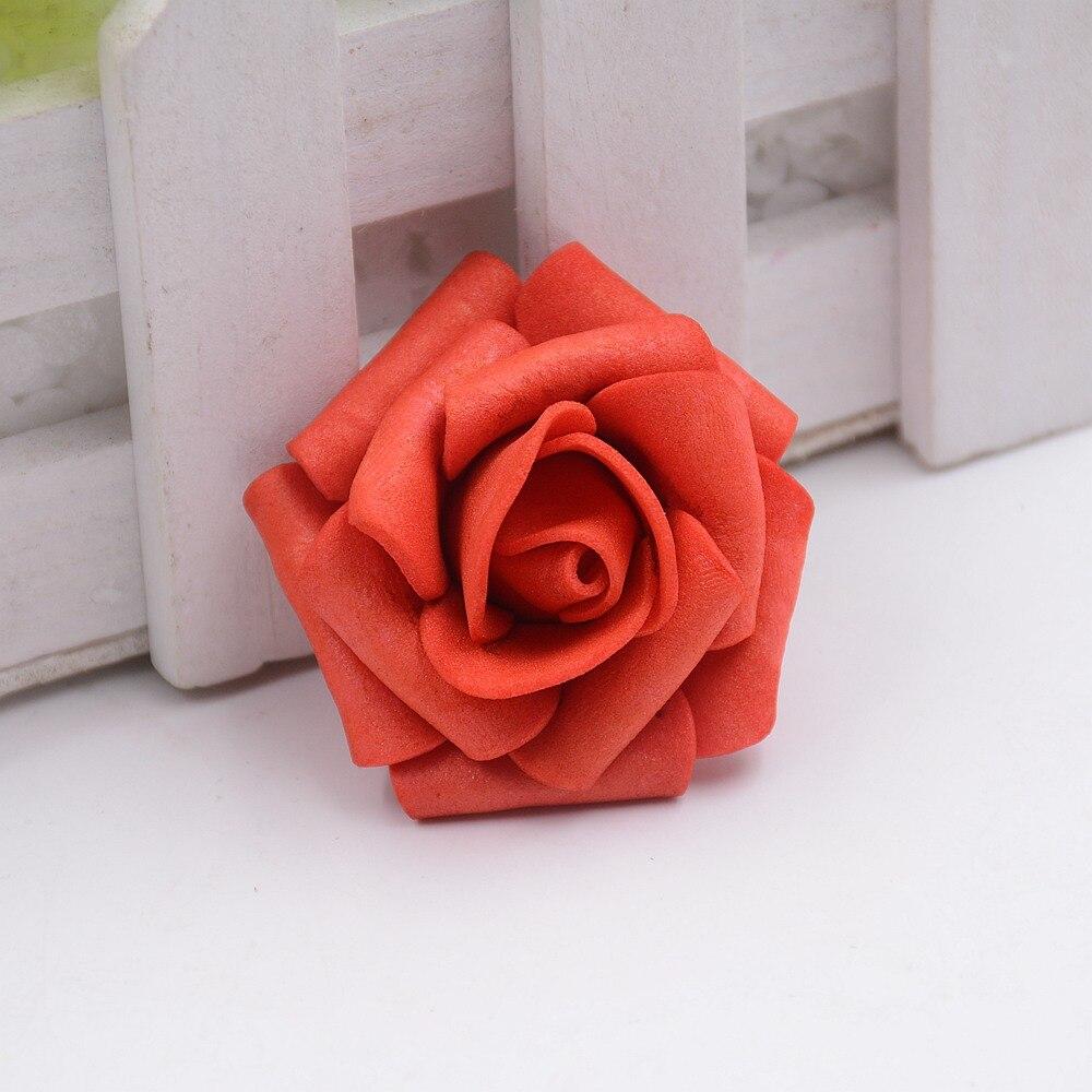 Diyhouse ® 144pcs//Lot Artificielle Mousse Roses Multi Couleur Faux Fleur pour Mariage