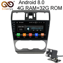 Sinairyu 9 inch Android 8.0 8 Core 4G RAM Car DVD GPS For Subaru Forester 2014 2015 2016 WIFI Autoradio Multimedia Stereo