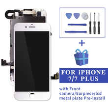 White/Black LCD Display Full Set For iPhone 6 7 Plus and Digitizer Assembly 8 Touch Screen Complete