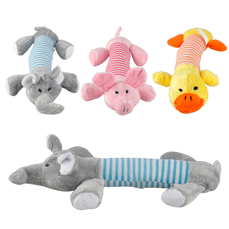 3pcs/lot Funny New Dog Toy Pet Chew Squeaker Squeaky Plush ...