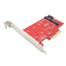 PCI-e X4 to NGFF (M.2) SSD Adapter Card PCIe ngff Adapter Extension Card Support system disk boot PCI-E Power Supply
