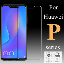 protective glass for huawei p20 pro on the huaweii p 20 p20 lite light p smart plus p20lite 20p tempered glas screen protector(China)