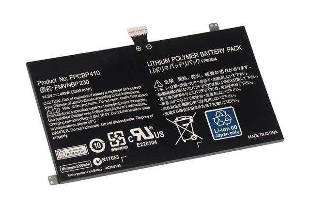 Original Genuine New bateria do portátil para Fujitsu LifeBook FPCBP410 UH574 UH554 FMVNBP230 FCBP0304 14.8 V 48WH livre 2 ano de garantia