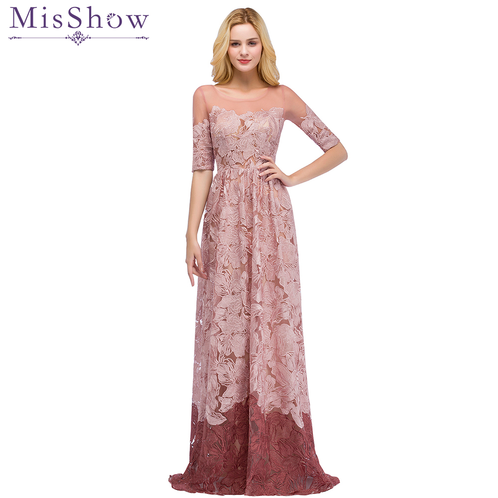 Top Designer Evening Dresses lace kaftan dubai dress Gradient short ...