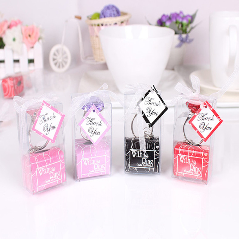 Personalized Wedding Gifts For Guests: Aliexpress.com : Buy Personalized Diamond Ring Key Chain