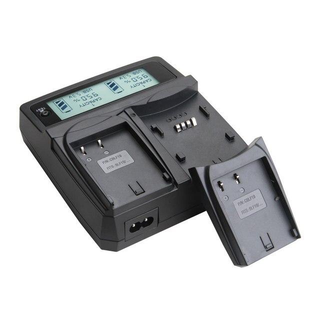 Udoli DMW-BLF19 DMW BLF19 BLF19E Батареи Автомобиля Двойное Зарядное Устройство Для Panasonic Lumix DMC GH3 GH4 DMC-GH3 GH3GK DMC-GH4 DMCGH3 DMCGH4