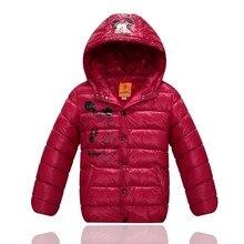Новых детских пальто в зима с толстыми хлопка-ватник пальто бесплатная доставка