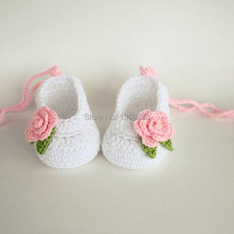 Baby Booties handmade crochet baby shoes baby girl booties ...