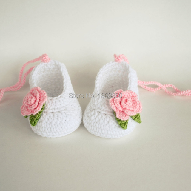 Baby Booties Handmade Crochet Baby Shoes Baby Girl Booties Crochet