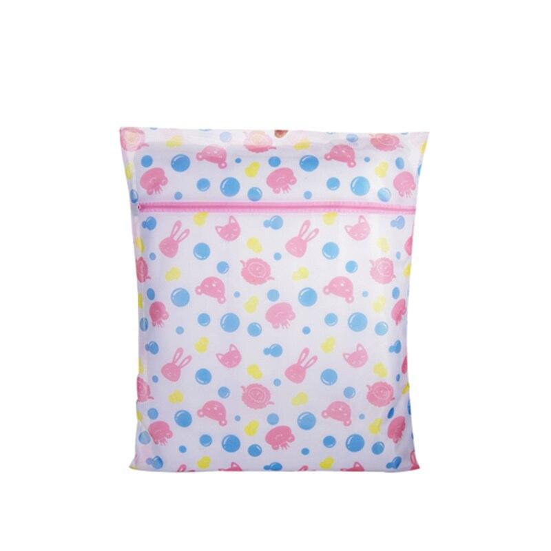 3pcs! Printing bra mesh laundry bag portable laundry network clothes socks washing bags for all automatic washing machine