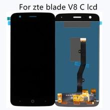 Für ZTE blade V8C lcd display digital display bildschirm flach bildschirm handy zubehör hohe qualität + freies werkzeug