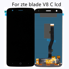 for ZTE blade V8C LCD assembly display digital screen flat mobile phone accessories high quality + free tool
