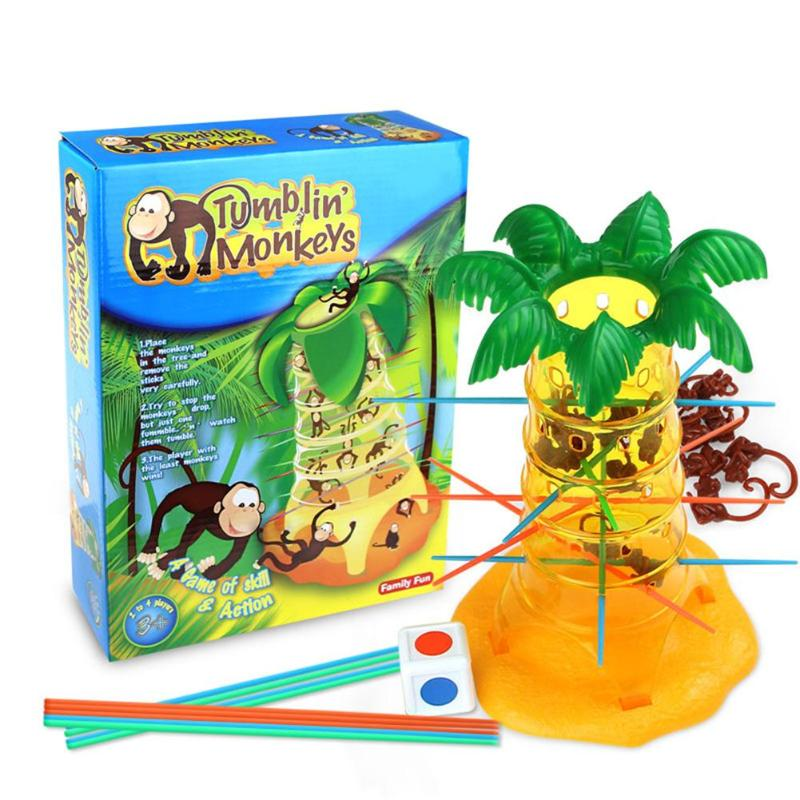 Building Blocks Interactive Toy Monkey Tree Game Interactive Comprehension Abilities Promoting Kids Children Toys Gift