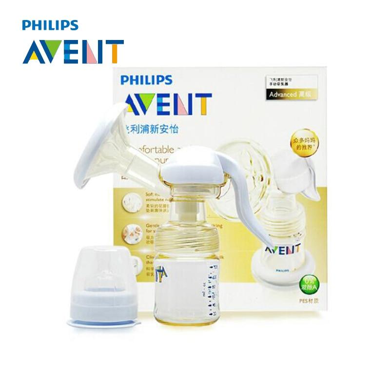AVENT Breast Pump PP PES Manual Breast Pump Feeding Breast Feeding Baby Nipple Suction Original Breast Pumps Milk Bottle Sucking