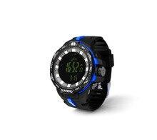 FR861 New Arrival Fishing Men Watch -Outdoor Barometer Compass Altimeter Temperature Clock 5ATM Waterproof Men Wristwatch