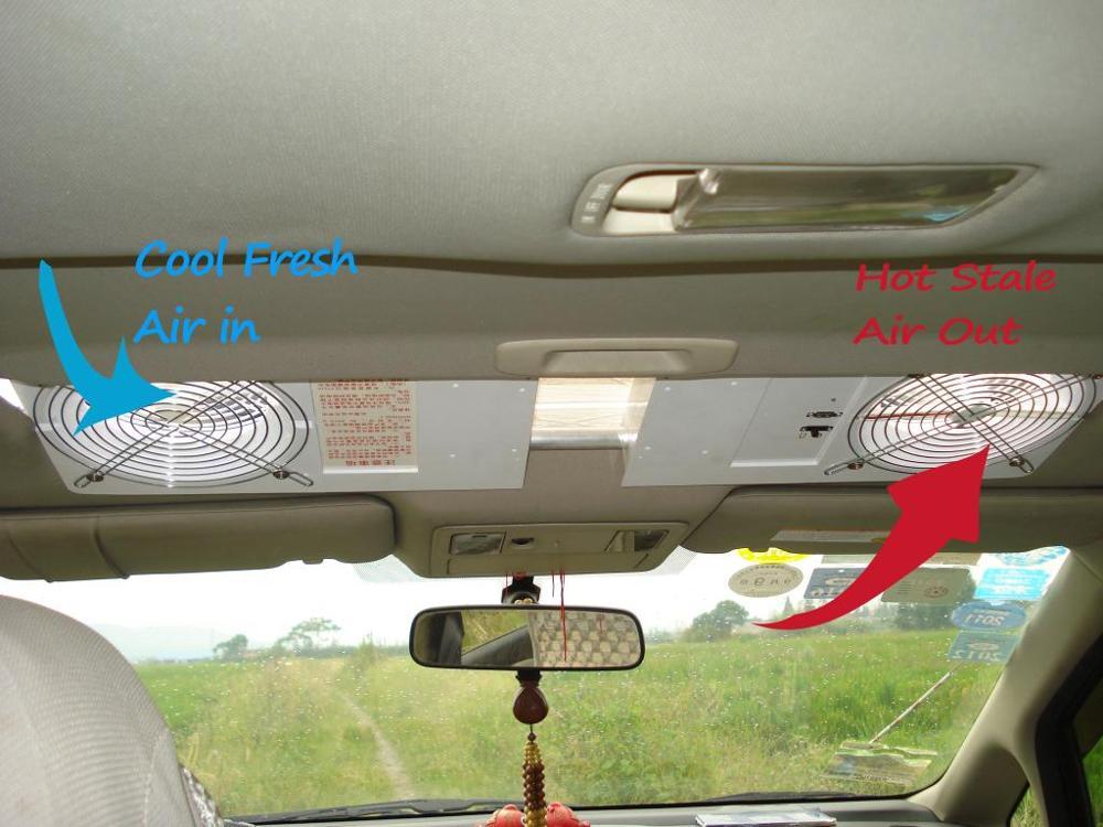 Hot Sale 5w New Solar Power Car Sunroof Ventilator Auto